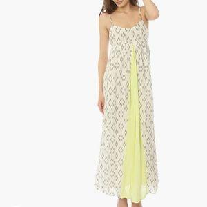 O'NEILL Lagoon Ivory Print Maxi Dress